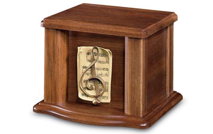 Bradbury Pecan - Urn Wooden Urns