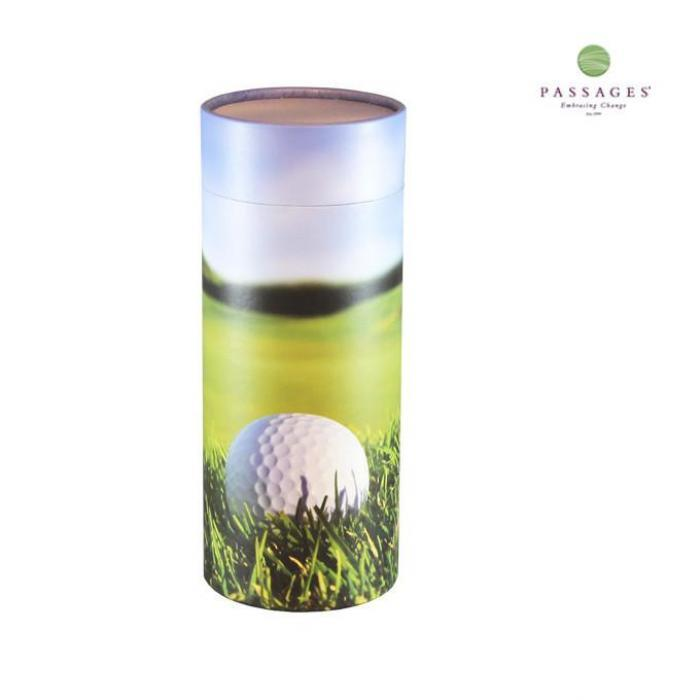 Scattering Tube Keepsake - 19th Hole  Biodegradable Urns