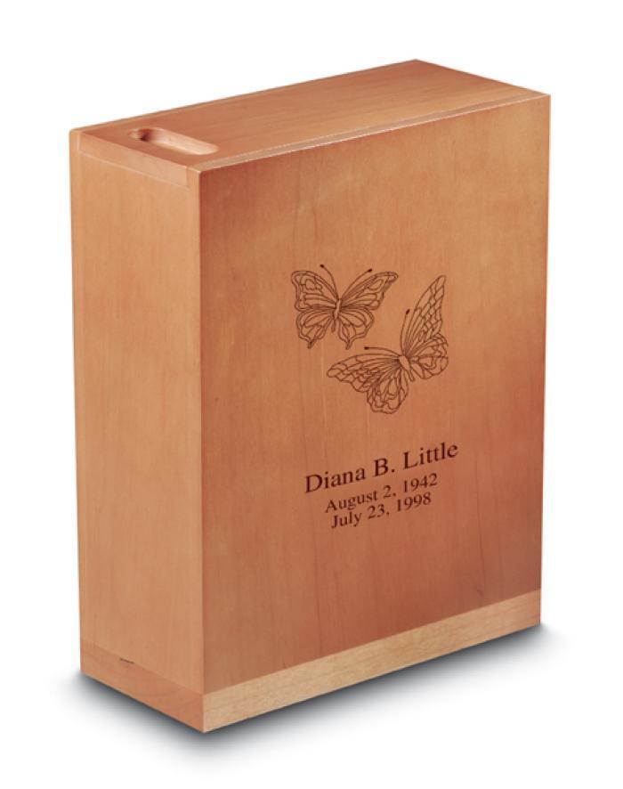 Monterey Maple Urn Wooden Urns