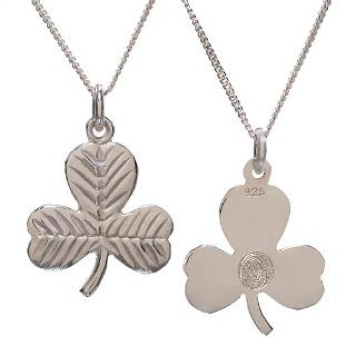 Shamrock Pendant Necklace Jewelry