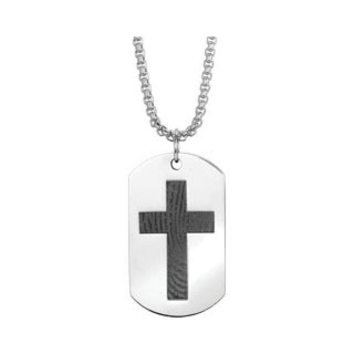 Simply Remembered - Cross Double Tag Jewelry