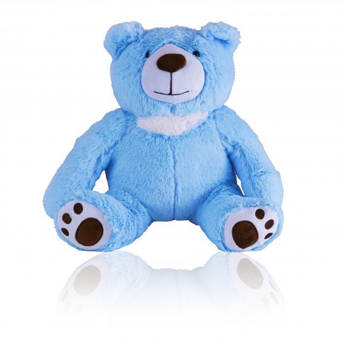 Memory Bear - Blue Keepsake Urns