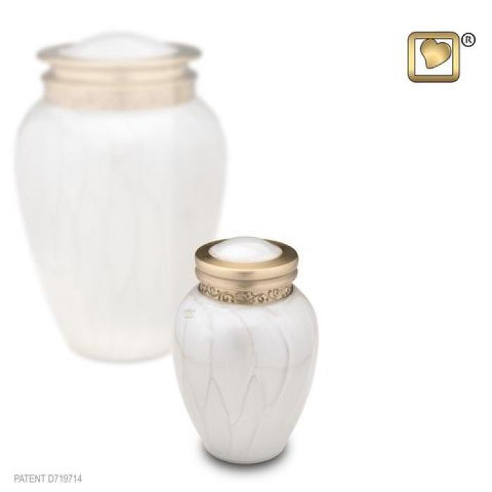 Blessing Pearl Keepsake Metal Urns