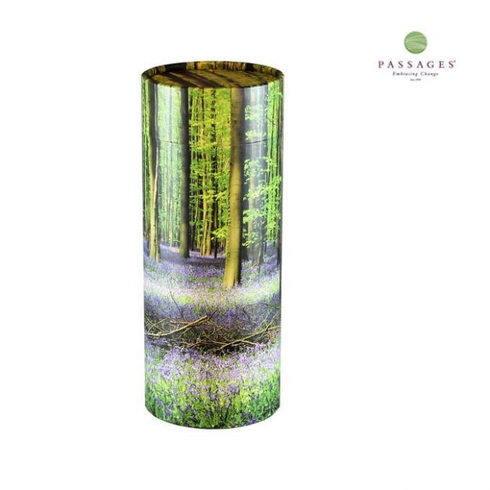 Scattering Tube - Spring Forest Biodegradable Urns