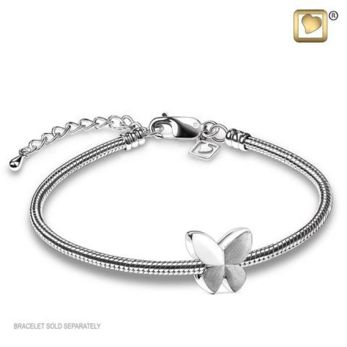 Bead - Butterfly Silver Jewelry
