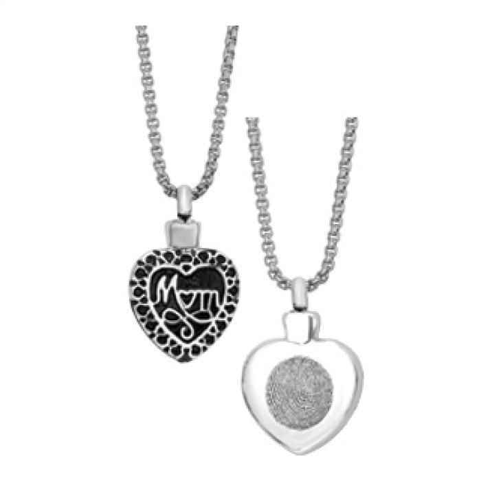 Simply Remembered - Mom Heart Jewelry