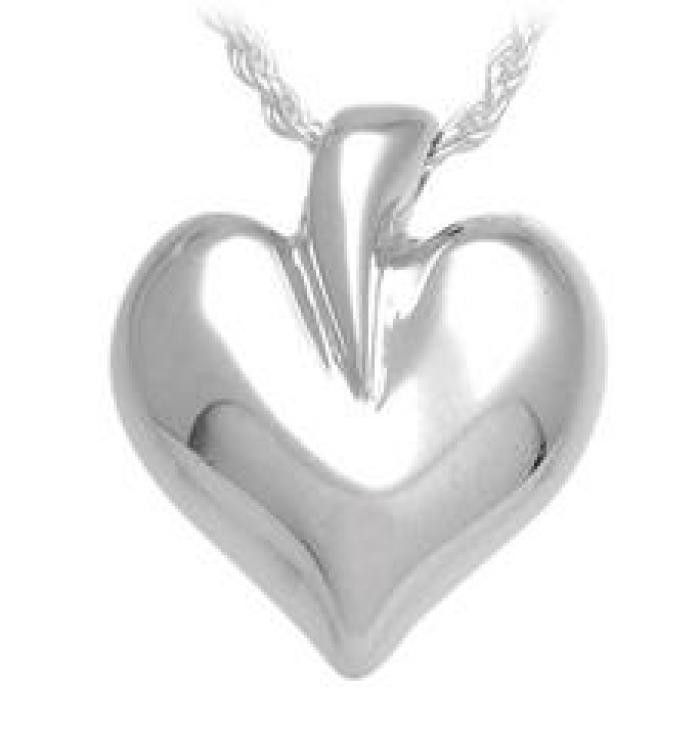 Pacific Urns® Modern Heart Jewelry