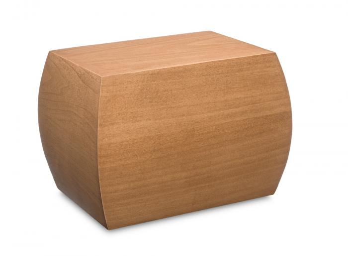 Braxton Maple Urn Wooden Urns