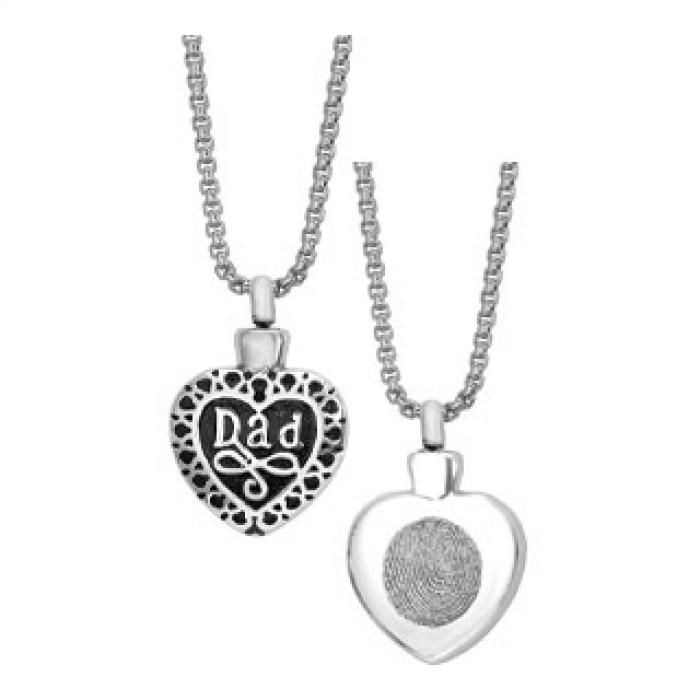 Simply Remembered - Dad Heart Jewelry
