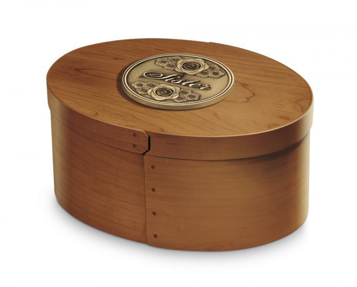 Whittaker Hardwood Urn Wooden Urns