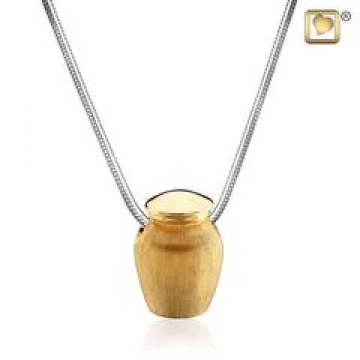 Pendant - Urn Gold Vermeil Jewelry