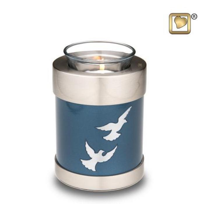 Divine Doves Tea Light Keepsake Urns
