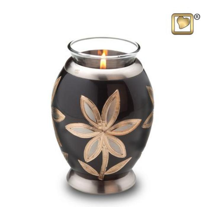 Majestic Lilies Tea Light Keepsake Urns