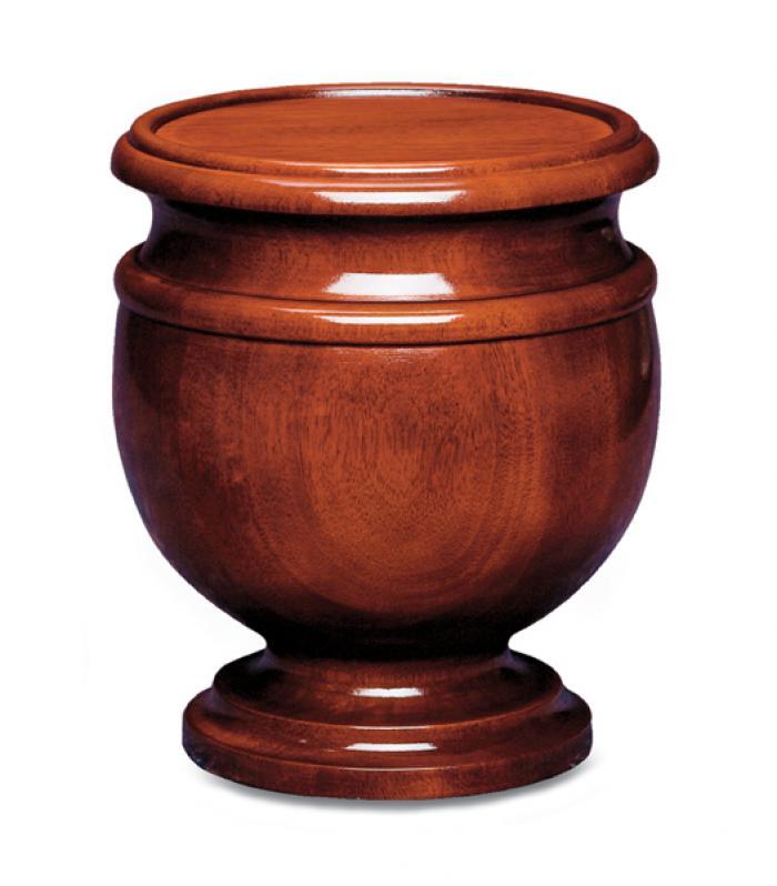 Jefferson Urn Wooden Urns