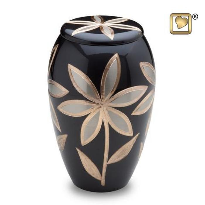 Majestic Lilies Metal Urns