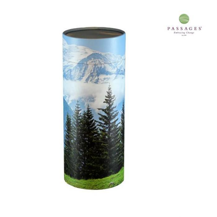 Scattering Tube Keepsake - Mountain View Biodegradable Urns