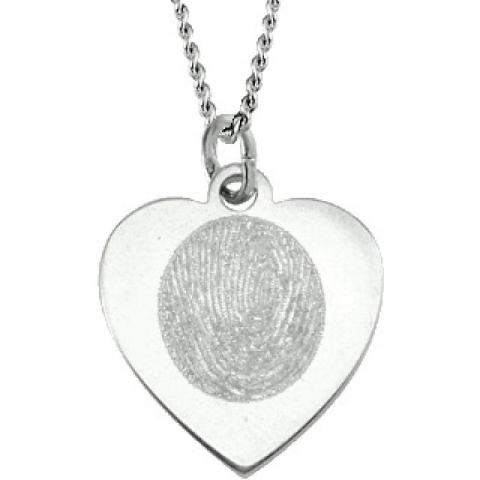 Classic Heart Pendant - Silver Jewelry