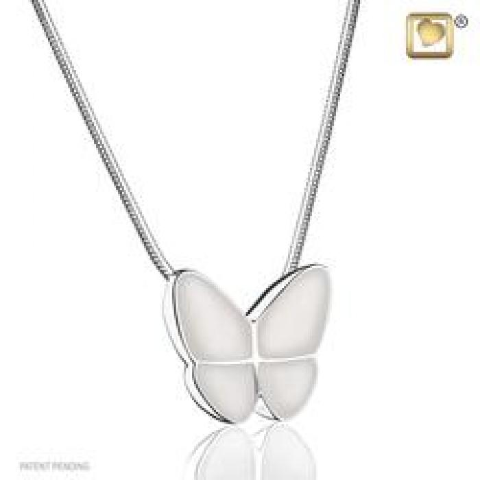 Pendant - Butterfly Wings of Hope Pearl Jewelry