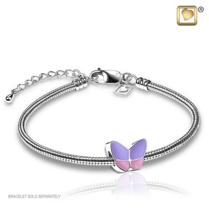 Bead - Wings of Hope Lavender Jewelry