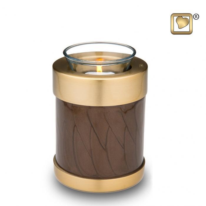Simplicity Bronze Tea Light Keepsake Urns