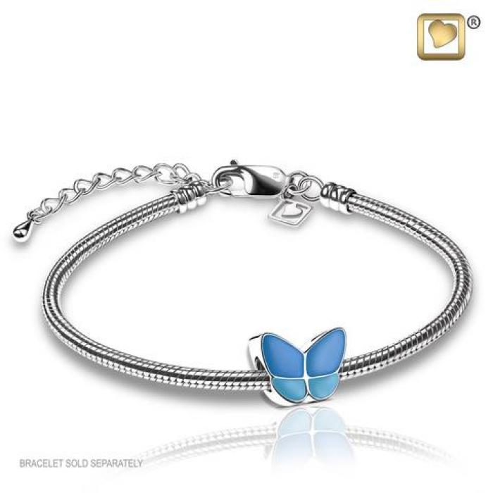 Bead - Wings of Hope Blue Jewelry