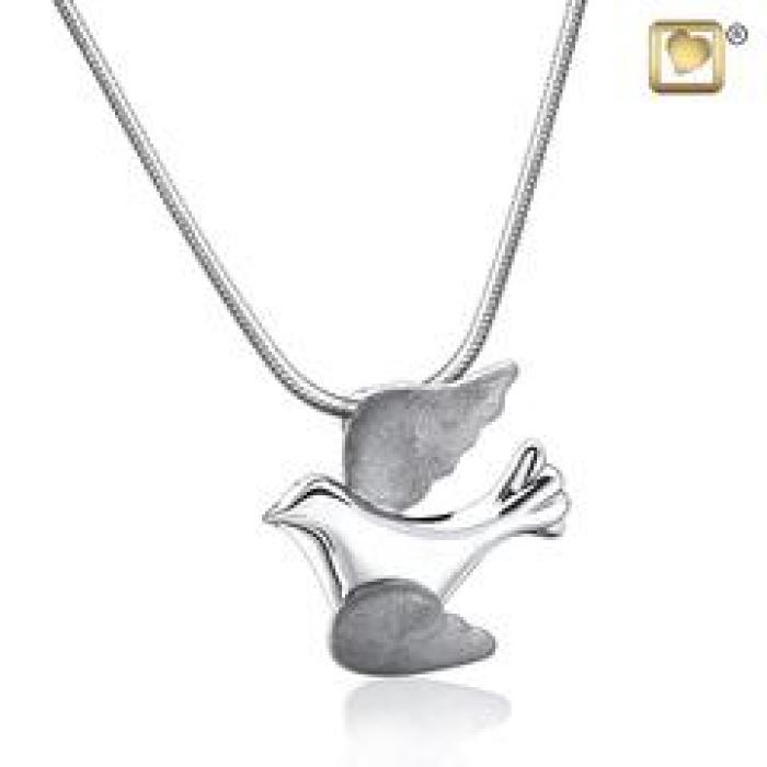 Pendant - Flying Doves Silver Jewelry